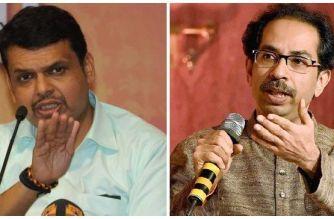 CM Devendra Fadnavis and Sena President Uddhav Thackeray