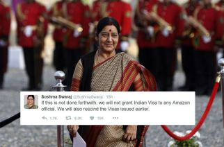 Amazon removed the product from its portal after Sushma Swaraj's tweet. Picture Courtesy:  REUTERS/Omar Sobhani
