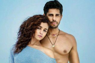 Alia Bhatt and Sidharth Malhotra during a photoshoot