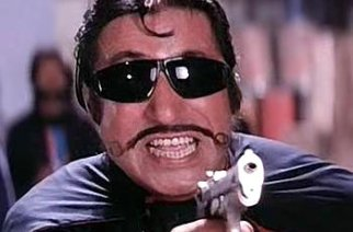 Shakti Kapoor as 'Crime Master Gogo' from the movie Andaaz Apna Apna