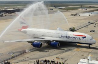 Mumbai airport to break the tradition of welcoming new flights with water salute