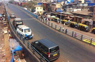 The Bandra Terminus road-over-bridge