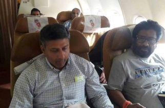 Shiv Sena MP Ravindra Gaikwad travels via Air India after the ban was lifted