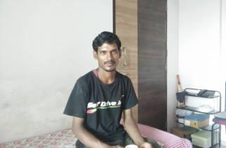 Railway employee Viresh Narsingh Kele. Picture: Amborish Roychoudhury