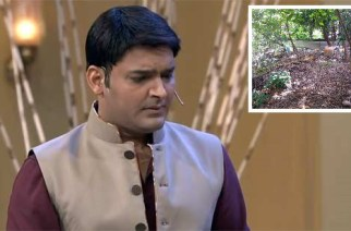 Kapil Sharma (inset: backside of his bungalow)