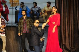 Ali Fazal, Jimmy Shergill, Mika Singh and Diana Penty at Launch of 'Happy Bhag Jayegi'.Picture Courtesy: India Forums