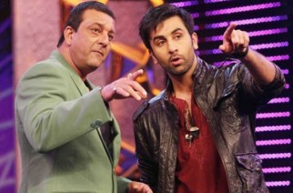 Sanjay Dutt and Ranbir Kapoor. Picture Courtesy: IndiaTV