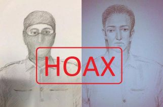 Sketches of suspected terrorists