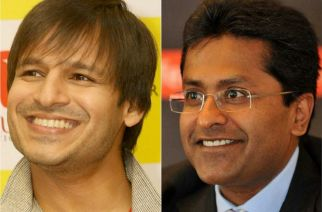 Vivek Oberoi and Lalit Modi