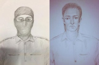 Sketch of the suspected Uran terrorists, Picture Courtesy: Anant Pande