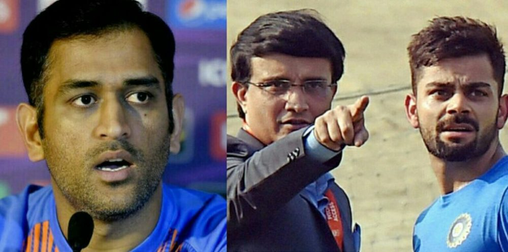 Ganguly wants Kohli and not Dhoni to lead Indian cricket team