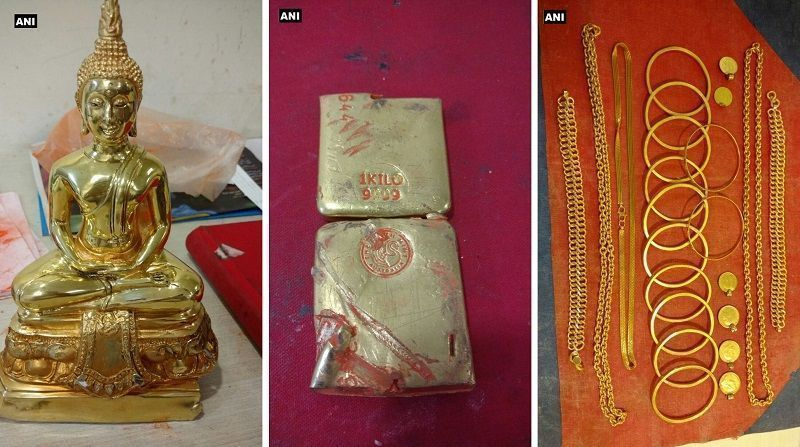 Gold worth over Rs 90 lakh recovered from 3 men in separate cases at Mumbai Airport