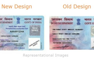 The difference between the new and existing PAN card