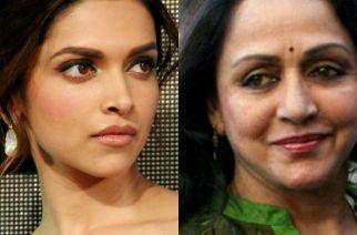 Deepika Padukone and Hema Malini