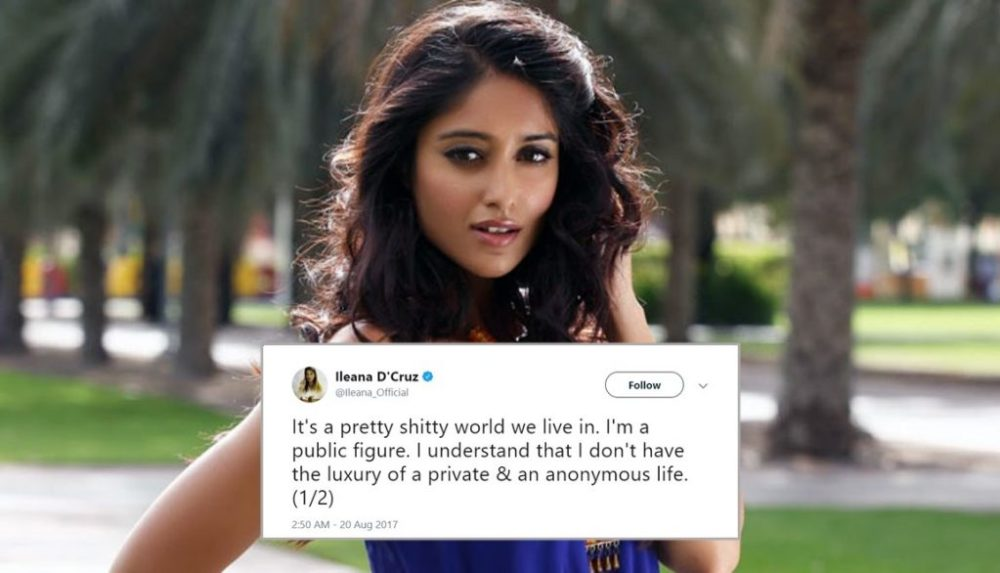 Ileana D'Cruz slams fans who misbehaved with her in Mumbai
