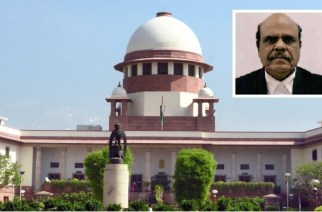 Supreme Court (inset: Justice CS Karnan)