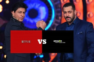 India is emerging as one of the biggest markets for streaming services like Netflix and Amazon Prime (Shah Rukh Khan and Salman Khan. Inset Picture Courtesy: optclean.com.br)