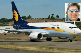 The jeweller allegedly left the note with the intention of closing down the airline (Inset: Salla Birju. Courtesy: Zoom4India)