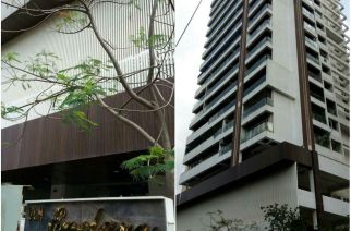 DLH Enclave building in Goregaon where Kapil and Irrfan own flats