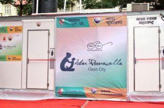 CM Devendra Fadnavis inaugurating State of the Art sanitation facility for Police & Railways