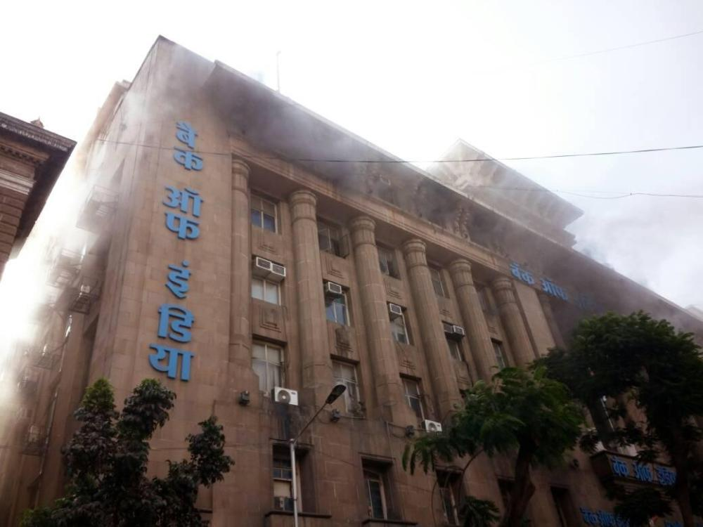 Major fire breaks out at Bank of India's heritage building in South Mumbai
