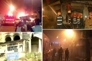 4 fire related incidents were reported in MMR in last 24 hours