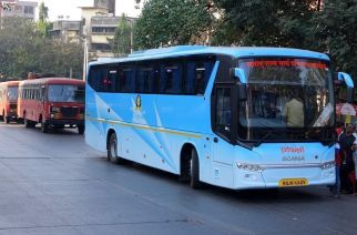 Over 1 lakh staffers have stopped plying ST buses from midnight demanding implementation of the 7th Pay Commission and an interim hike of 25 percent (Representational Image. Courtesy: arzankotval2002/Flickr)