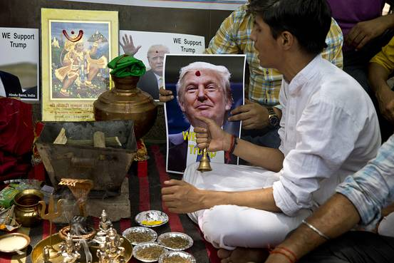 Mumbai temple performs 'yagna' for Trump's victory in US elections