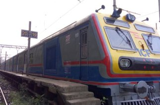 Mumbai's first AC local train is currently at Kurla carshed