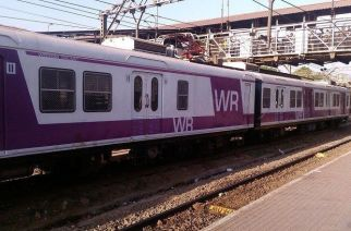 The first AC local is likely to run on WR's Churchgate-Borivali route. (Picture Courtesy: India Rail Info/Neeleshss)