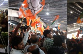Suresh Prabhu inaugurating Ram Mandir amid Sena-BJP clash