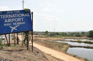 Construction site for Navi Mumbai airport