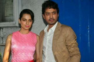 Kangana Ranaut and Irrfan khan