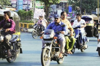Helmets mandatory for pillion riders