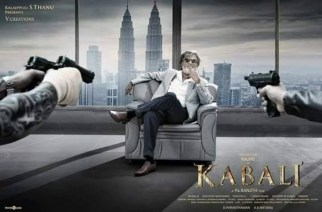 A poster of 'Kabali'