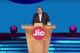Mukesh Ambani at the Reliance Industries Limited AGM