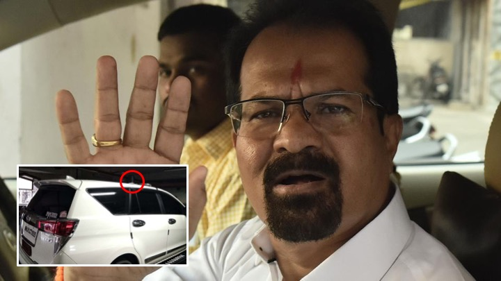 Mumbai mayor Vishwanath Mahadeswar refuses to remove red beacon from his vehicle