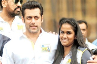 Salman Khan and Arpita Khan Sharma