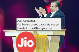 Reliance Industries Chairman Mukesh Ambani at the launch of Jio