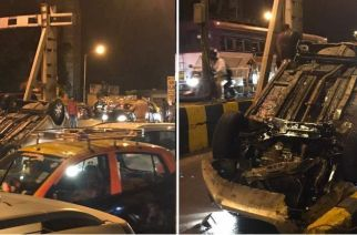 The tourist car driver was allegedly driving in an inebriated condition, Picture Courtesy: Navin Vijan