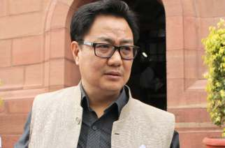 Minister of State for Home Affairs Kiren Rijiju. Picture Courtesy: Thenortheasttoday.in