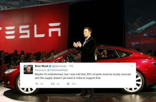 Tesla CEO Elon Musk hinted that the company may not be able to launch its electric cars in India anytime soon