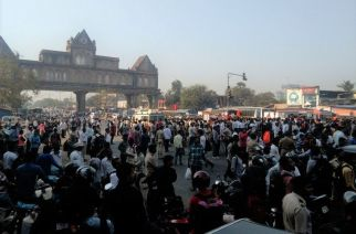 Dahisar check naka. Picture Courtesy: Dadasaheb Gate