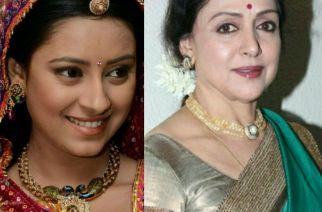 Pratyusha Banerjee and Hema Malini