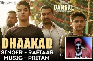 Dhaakad Promo (inset: Raftaar)