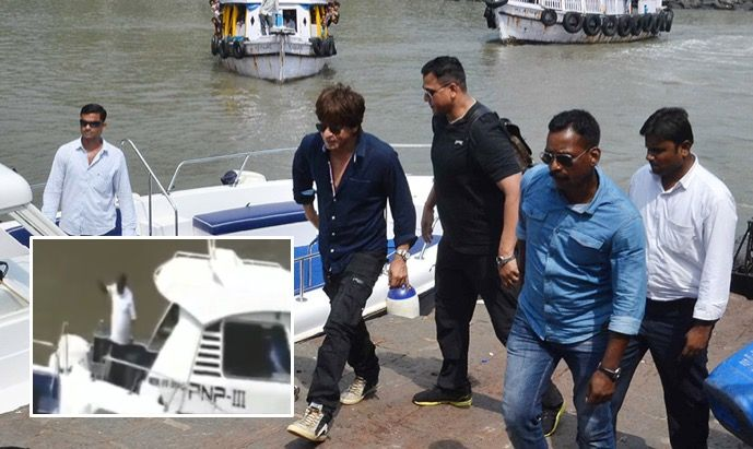 Video: You may be a superstar but need my permission to come to Alibaug, angry MLC tells SRK