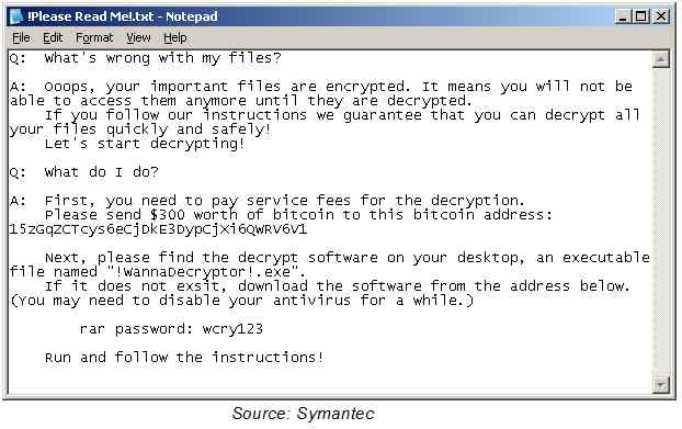 Follow CERT-In instructions on WannaCry attack: RBI to banks
