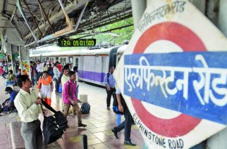 The code initials of the newly renamed Prabhadevi station would be 'PBHD' (Elphinstone Road station. Picture Courtesy: Jai Maharashtra News)