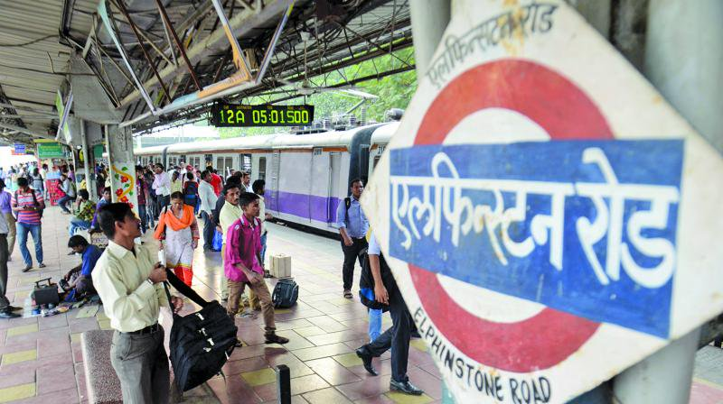 Western Railway's Elphinstone Road station officially renamed to Prabhadevi