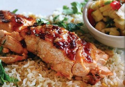 Chipotle Salmon Uncle Julios Dining Divas, Plano Profile